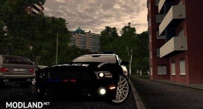 Ford Mustang Shelby GT500 Police  [1.5.9], 1 photo